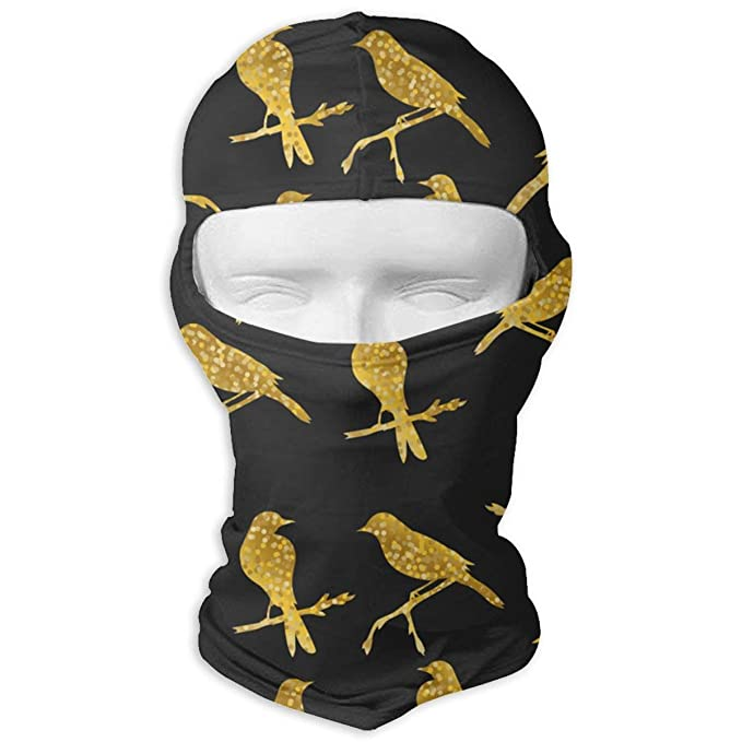 Aeykis Gold Birds Riding Biycle Bandana Full Face Mask Tube Bandana ...