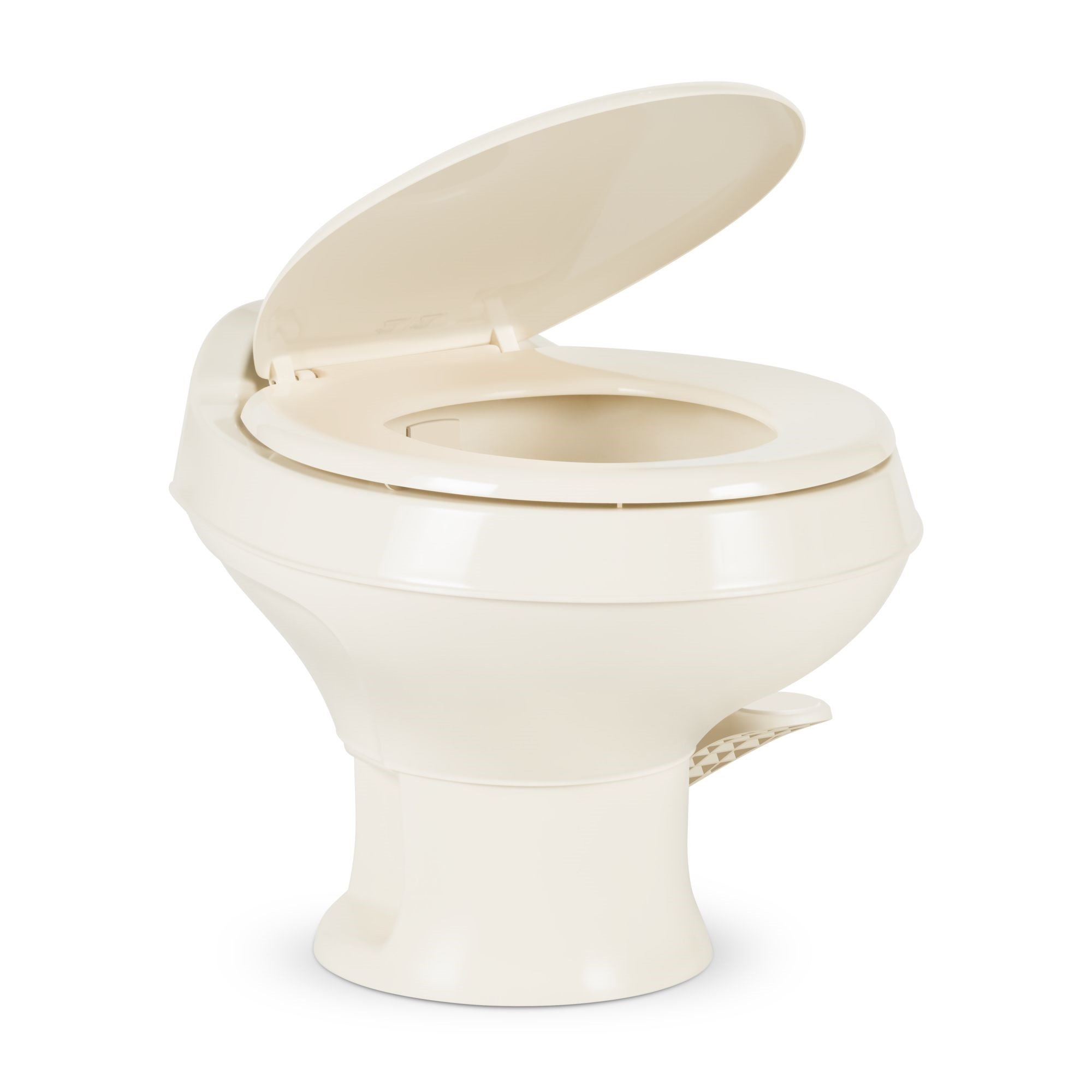 Dometic 300 Series Low Profile Toilet w/ Hand Spray, Bone by Dometic (Image #1)
