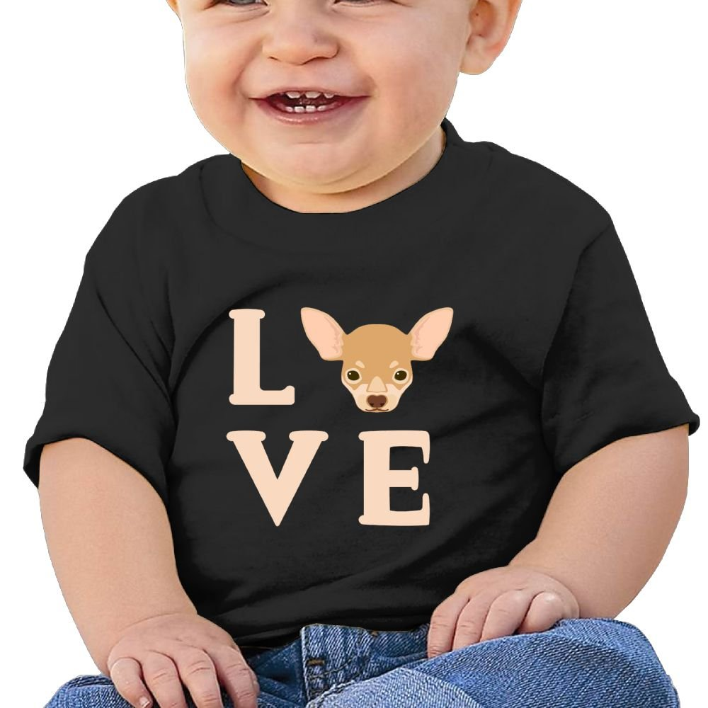 Love Cotton Short Sleeve T Shirts for Baby Toddler Infant