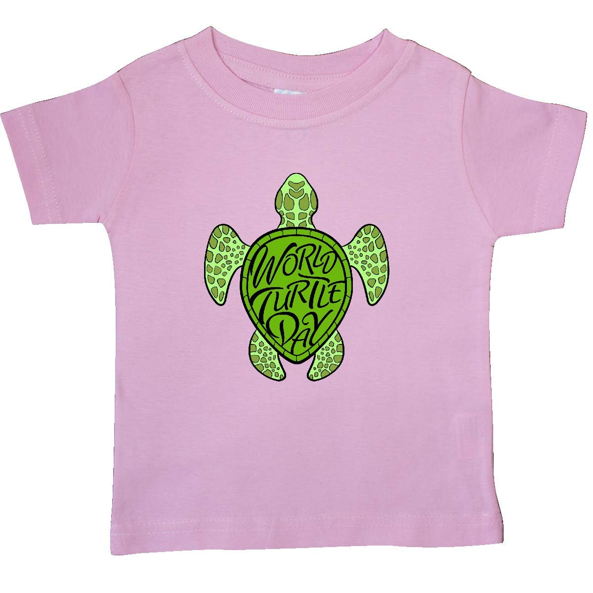 inktastic World Turtle Day with Sea Turtle in Green Baby T-Shirt