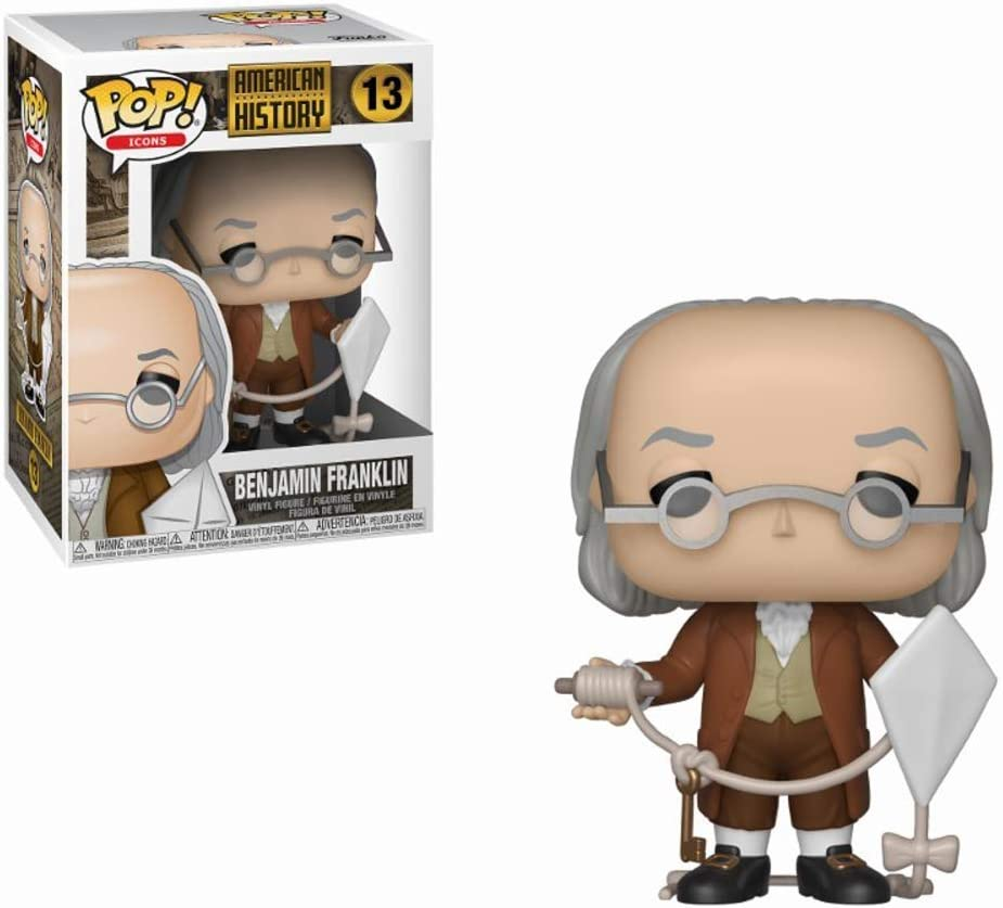 Funko Pop! Icons: History - Benjamin Franklin, Multicolor