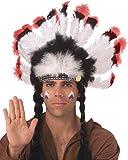 Tocado de plumas indio