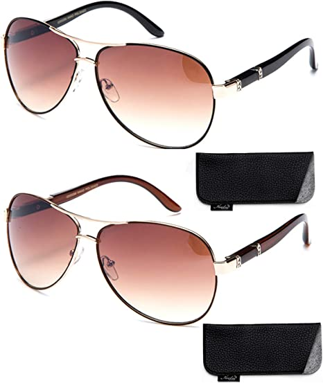 New Model Aviator Style Modern Design Fashion Sunglasses for Men and Women