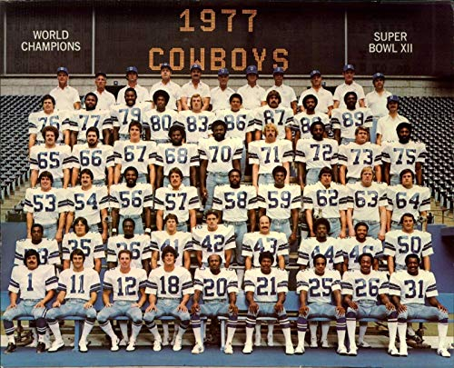 Dallas Cowboys 1977 Champions 8 x 10 Fuji Film Photo for sale  Delivered anywhere in Canada