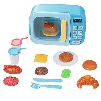 Toyvian Horno simulado Juguetes de Cocina con Horno de microondas ...