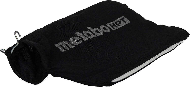 Metabo HPT Dust Bag for Hitachi/Metabo HPT Miter Saws, Black (322955M)