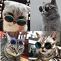 Pet Cat Dog Cool Sunglasses Eye Wear Protection Little Dog Eyewear Eyeglass Pet Cat Accessories Products Cute Gift