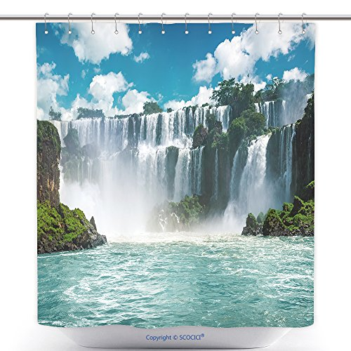Customs Brazil Costumes And Traditional (Funky Shower Curtains The Amazing Iguazu Waterfalls In Brazil 491960866 Polyester Bathroom Shower Curtain Set With)