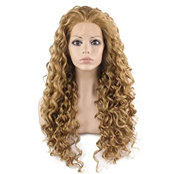 Amazon Com Mxangel Long Heat Resistant Synthetic Hair Celebrity