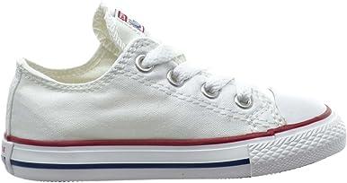 Converse Chuck Taylor All Star OX - Zapatillas para bebé (óptica), color blanco