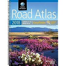 2018 Rand McNally EasyFinder® Midsize Road Atlas (Rand McNally EasyFinder Road Atlas)