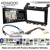 Volunteer Audio Kenwood Excelon DNX994S Double Din Radio Install Kit with GPS Navigation Apple CarPlay Android Auto Fits 2009-2016 Nissan Maxima