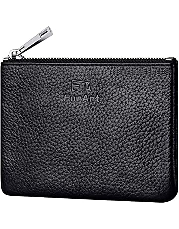 a7032f675cf2 FurArt Genuine Leather Coin Purse
