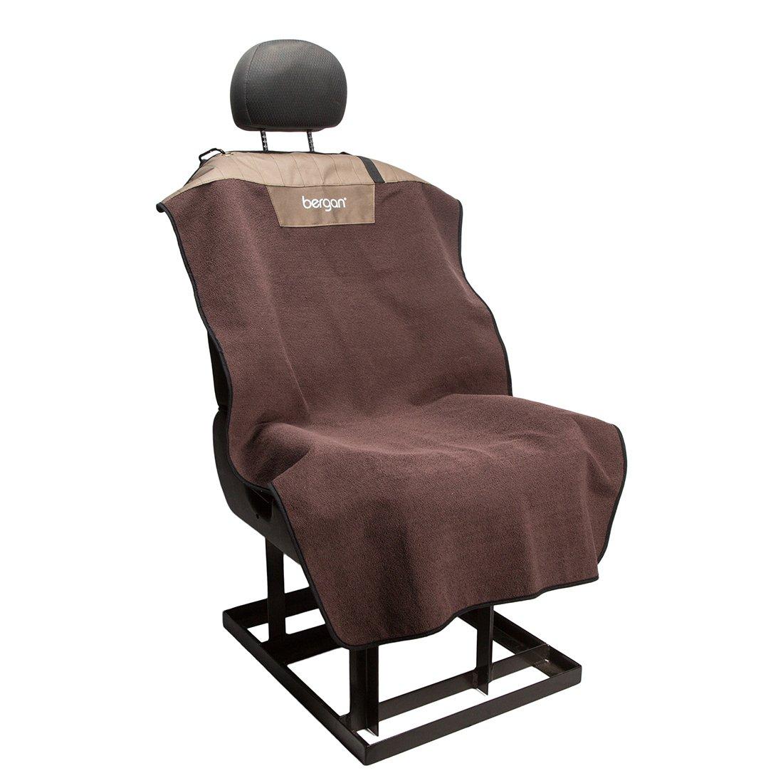 Bergan Bucket Seat Cover, Premium Microfiber, Mole' Brown