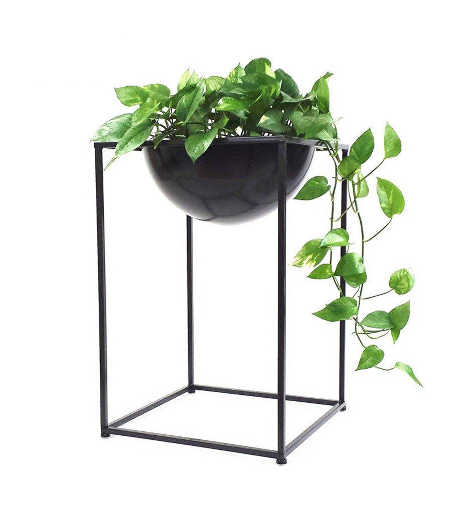 HJ Cremagliera del Vaso di Fiori cremagliera del Vaso del Metallo del Vaso di Fiori cremagliera Interni semplici creativi del Vaso di Fiore Garden (Dimensioni   50cm)