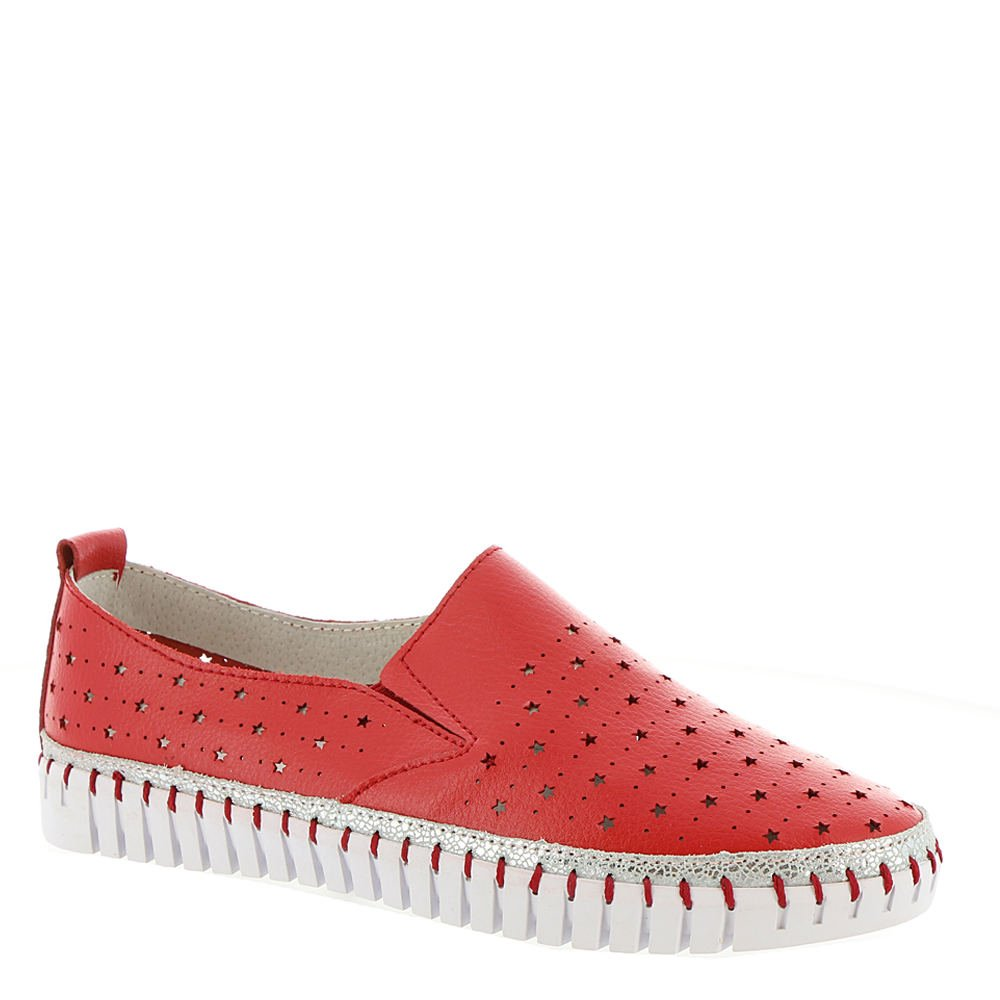 Bernie Mev TW40 Women's Slip On B01LPFVINQ 9.5 B(M) US|Red