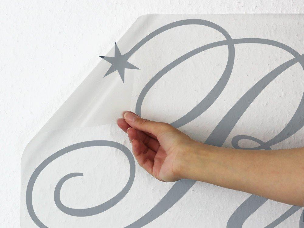 GRAZDesign Schlafzimmer Wandtattoo Reich der der der Träume - Home Dekoration modern Sterne - Wandtattoo Deko über Bett   113x57cm   670169_57_070 B01N6LUBDF Wandtattoos & Wandbilder 854992