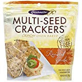 Crunch Master Roasted Garlic Multiseed Cracker (12x4.5 Oz)