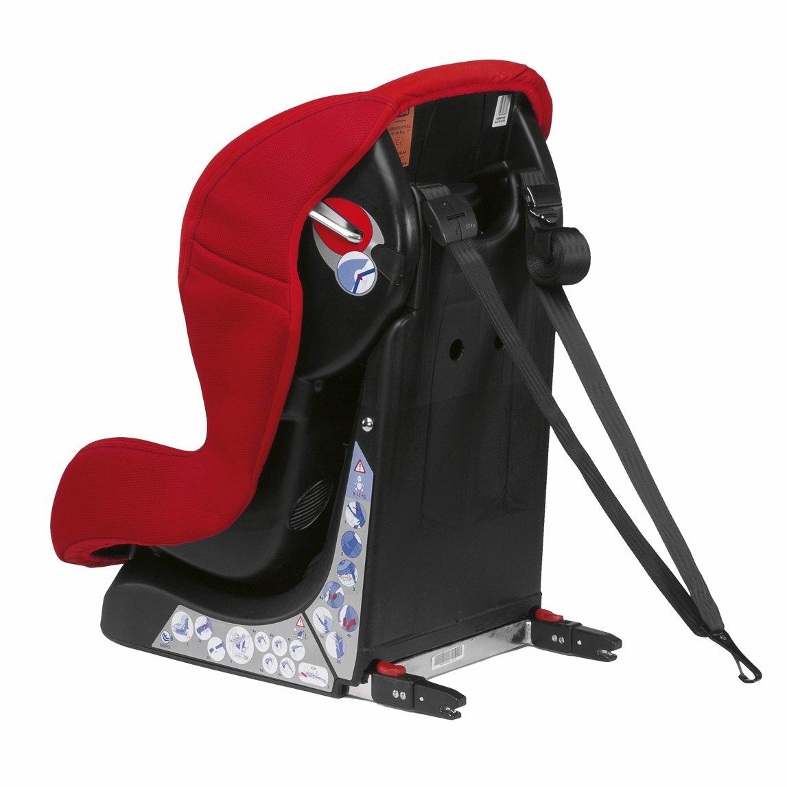 Chicco 07079241710000 Xpace Isofix - Silla de bebé para coche (grupo 1, niños: 9-18 kg), color rojo: Silla Auto Xpace Isofix GR 1: Amazon.es: Bebé