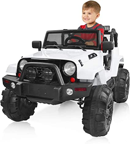 12V Battery Kids Ride on Car Electric Power Remote Control High//Low Speed w// MP3