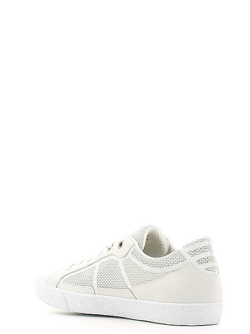 Geox Sneakers Uomo PE Smart U62X2I 01485 Mesh + Nappa White