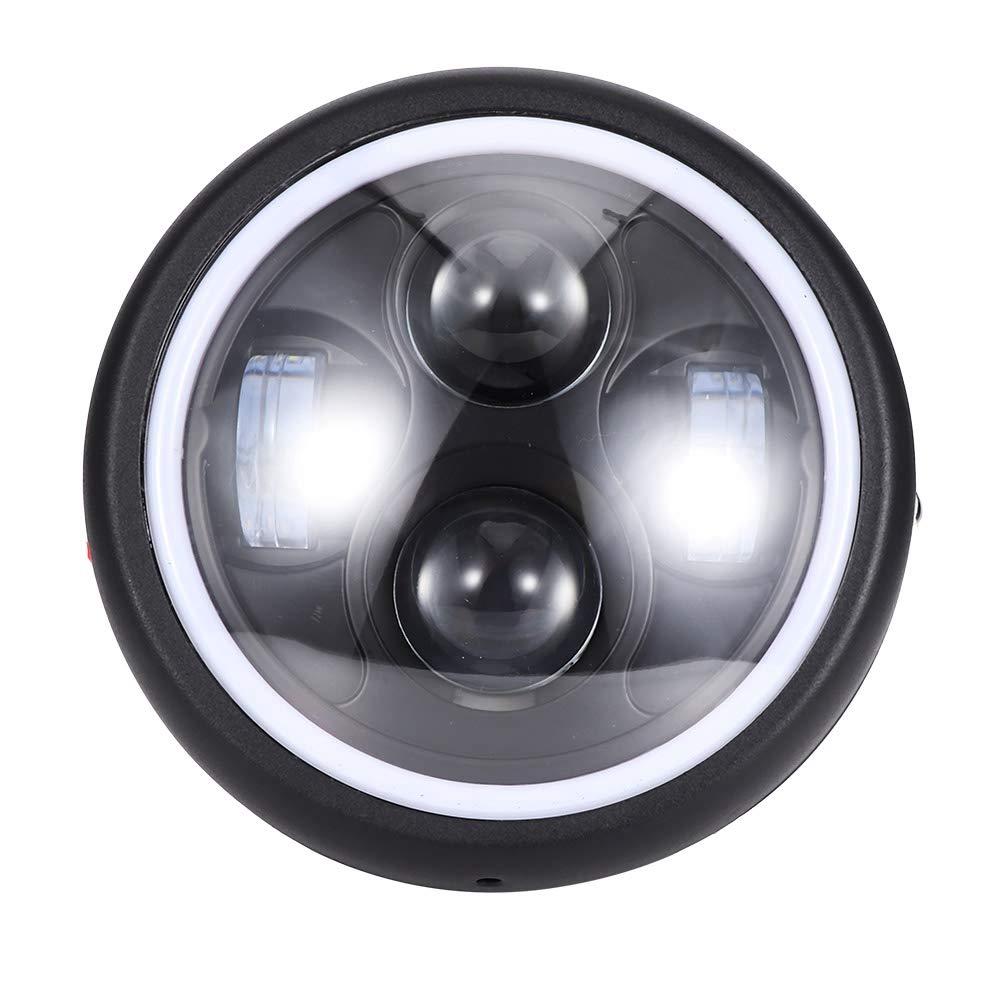 6,4 pollici modificato Angel Eye LED faro di guida per moto KIMISS motociclo faro da 5,3