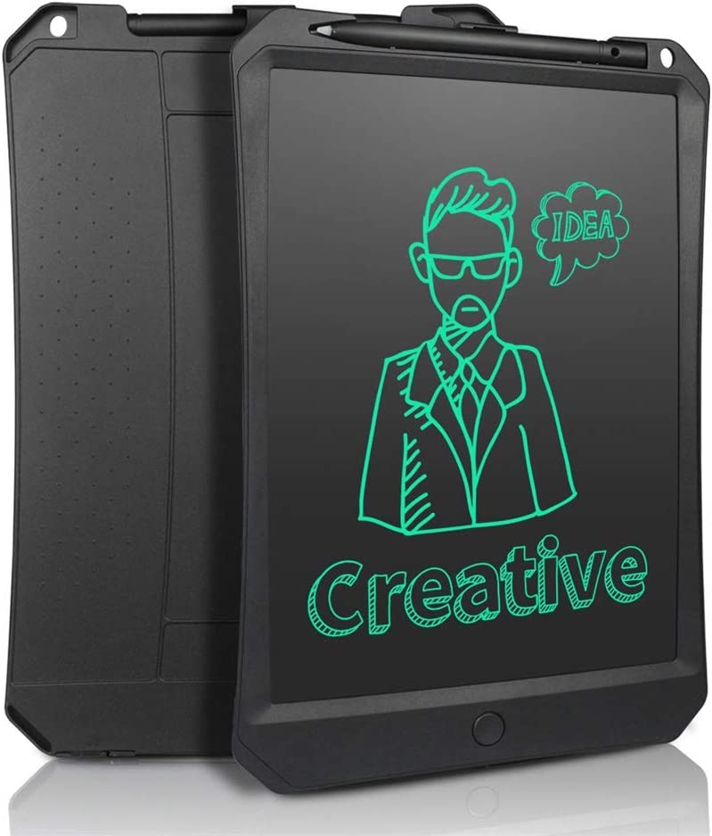 10.5 Inch LCD Writing Board//Electronic Blackboard//Painting Graffiti Board//Message Board//with Magnet//Suitable for School Black, Blue, Pink Office Family