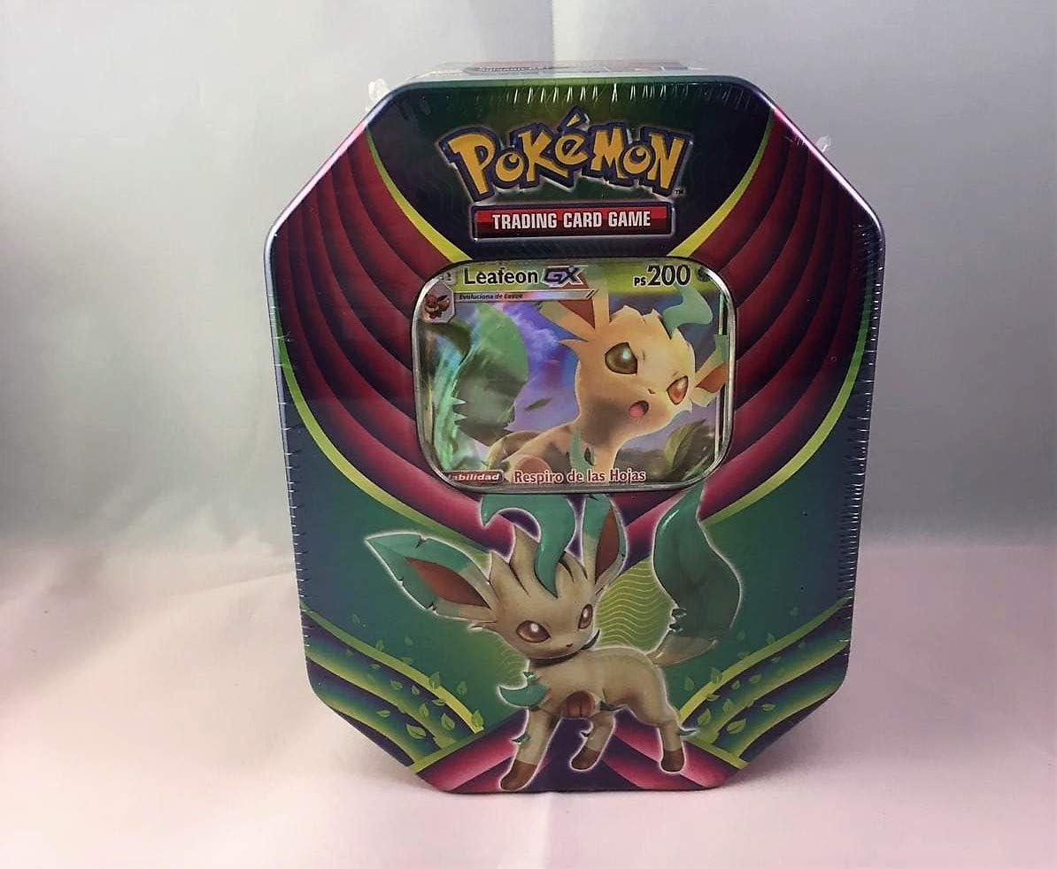 Caja Metalica Pokemon Leafeon gx (español) : Amazon.es: Juguetes ...