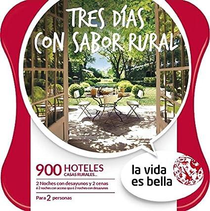 Caja Regalo Tres días Sabor Rural