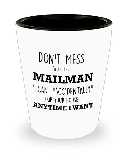 Amazoncom Best Shot Glass Coffee Mug Mail Carrier Gifts