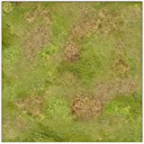 Rural Plains Wargaming Play Mat – 36x36 Inch Table Top Roleplaying and Miniature Battle Game Mat Great for Warhammer 40k Star Wars Minis Warmachine Polyester with Anti-Slip Rubber Backing