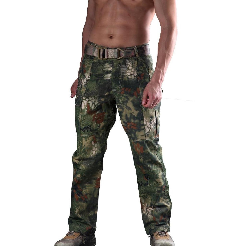 WSPLYSPJY Mens Camouflage Printing Elastic Waist Beach Board Shorts Swim Trunks