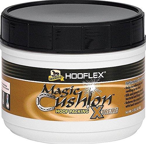 Absorbine Hooflex Magic Cushion Xtreme Horse Hoof Care, 2 lb - Magic Cushion Horse