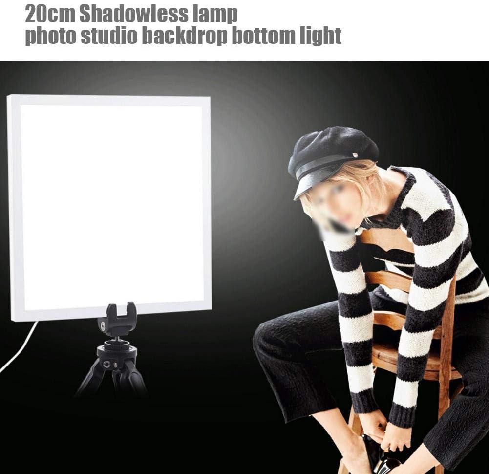 LED Photography Shadowless Bottom Light Lamp Panel Pad for 20cm Photo Studio Box Lightbox Bigking Photo Studio Light