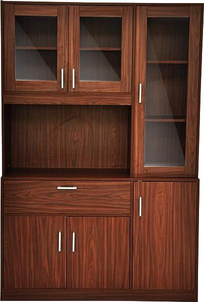 Kitchen Cabinet Engineered Wood Rolex Finish Amazon In Furniture
