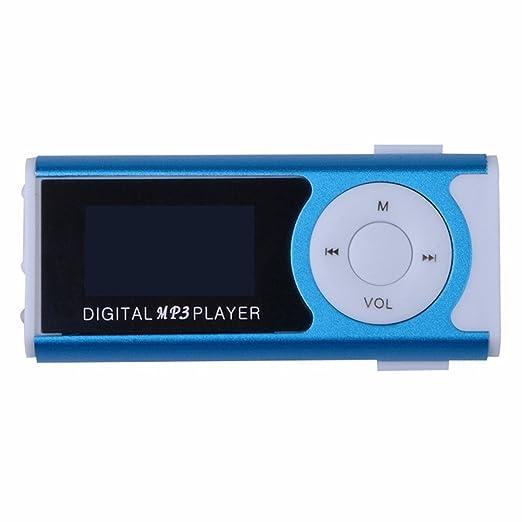 22 opinioni per Mini Lettore MP3 Clip USB di sostegno dello schermo LCD per 16GB micro SD (blu)