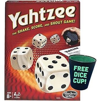 Yahtzee Classic w/free dice cup