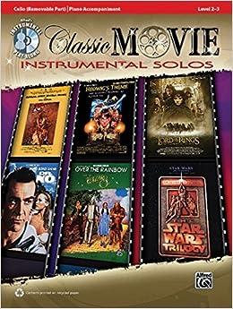 Torrent Descargar Classic Movie Instrumental Solos - Cello: Playalong / Level 2-3 PDF Mega