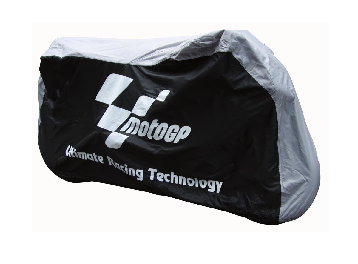 MOTOGP Dust Cover Black & Grey Large Fits bikes between 750 -1000CC moto gp