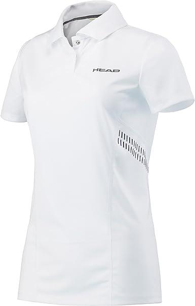 Head Club Technical - Camiseta Tipo Polo para Mujer: Amazon.es ...