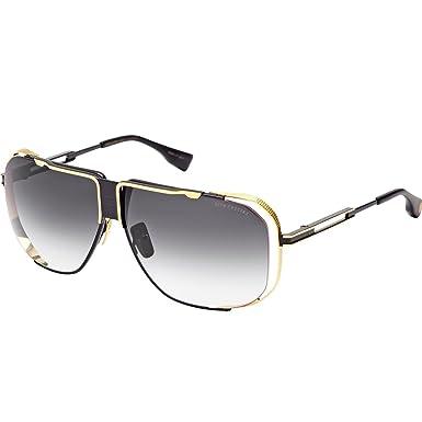 05e75e77160 Image Unavailable. Image not available for. Color  Dita Cascais Sunglasses  DRX 2065A Black Shiny 18K Gold ...