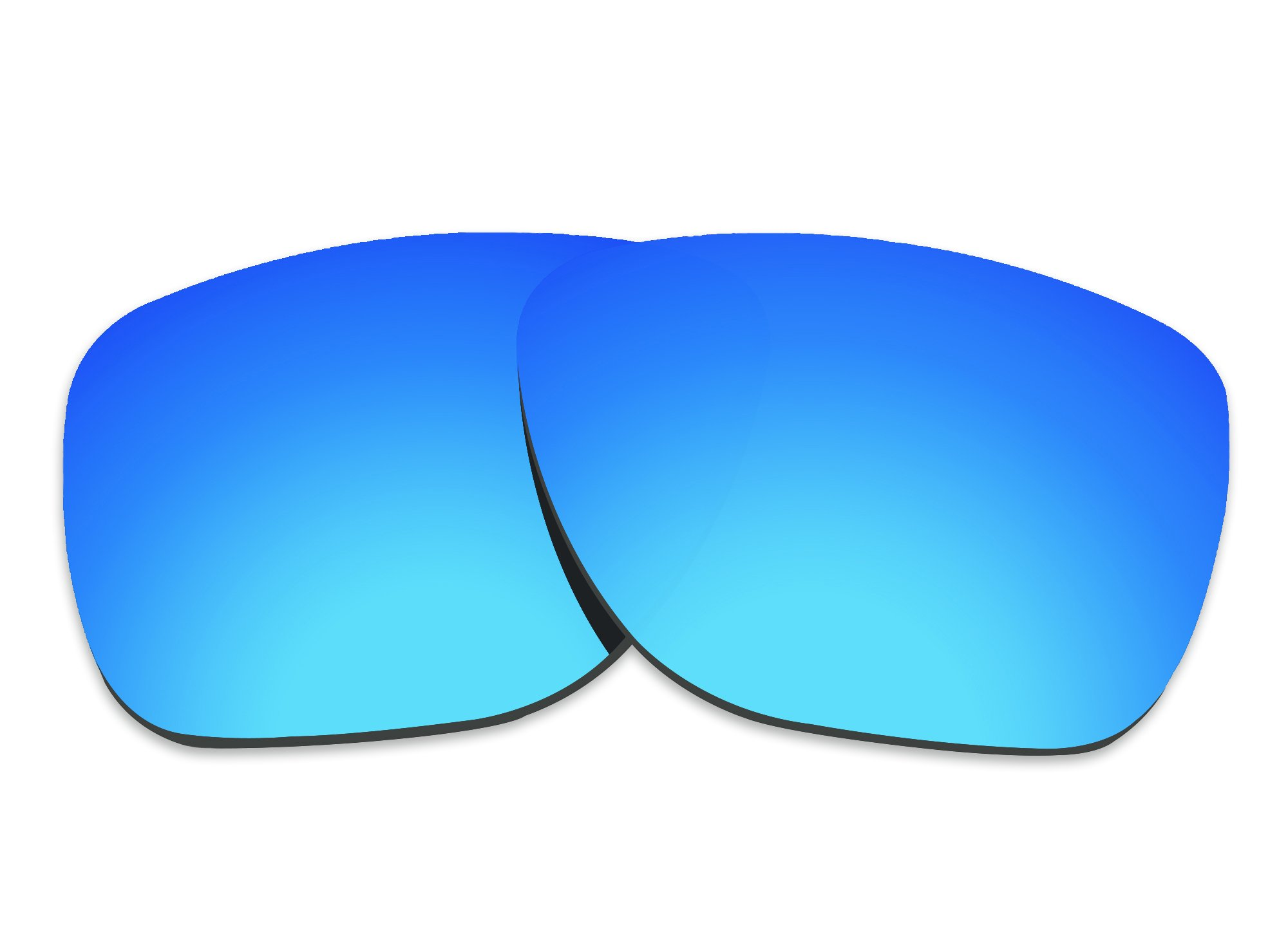 COLOR STAY LENSES 2.0mm Thickness Polarized Replacement Lenses for Oakley Crossrange XL OO9360 Blue Mirror Coatings by COLOR STAY LENSES