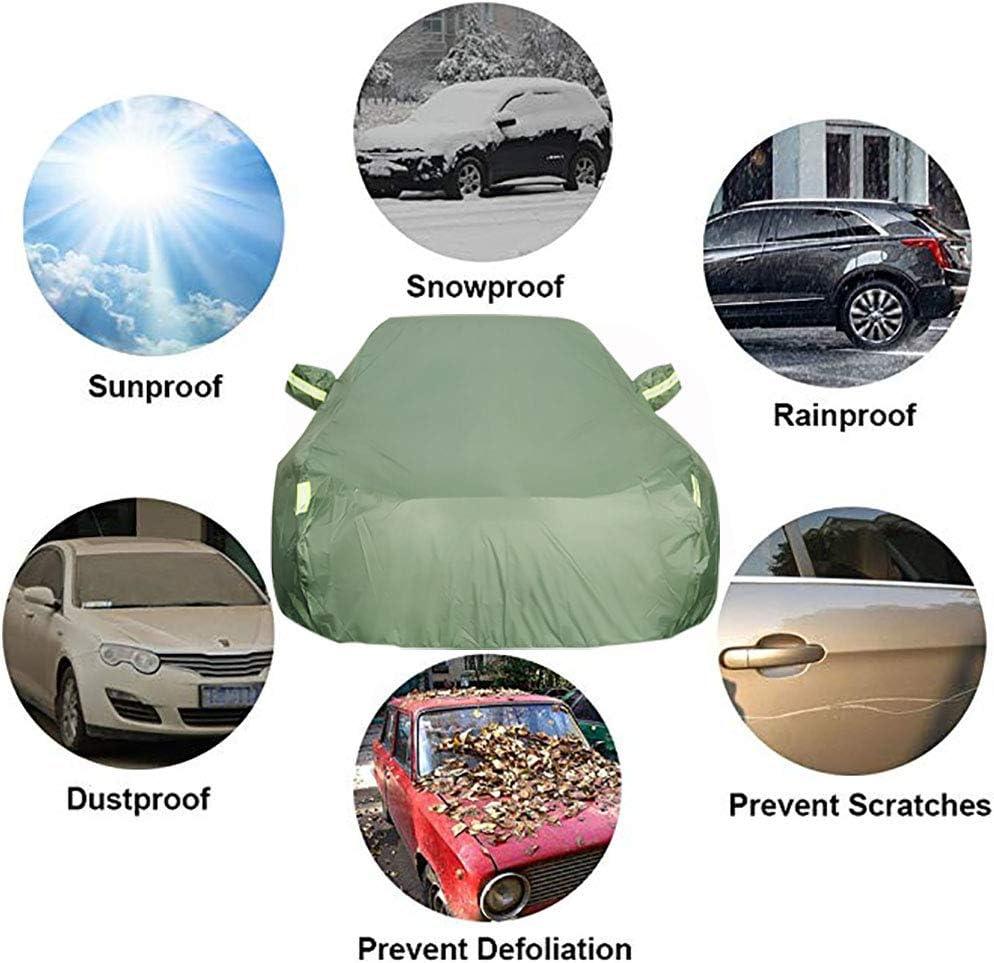 OOFAYZYJ Copriauto Telo Copriauto Adatto per Volkswagen T Cross Copertura Auto Antipolvere//Impermeabile//AntiGraffio//Antivento//Anti UV con Strisce Riflettenti Copertura Auto Protettiva