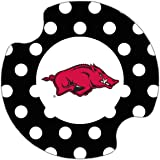 Thirstystone University of Arkansas Dots Car Cup Holder Coaster, 2-Pack