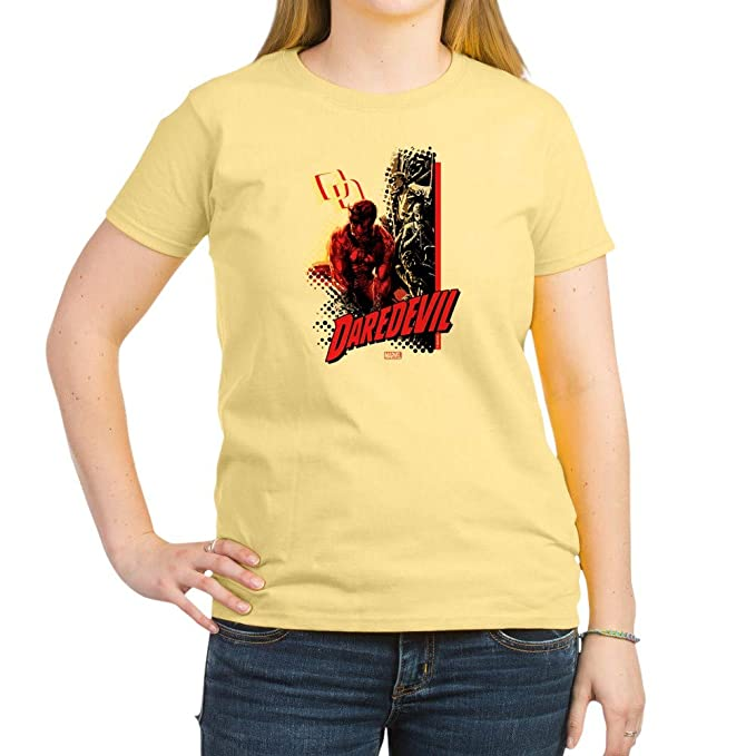 64ed67f2c5d Amazon.com  CafePress Marvel Knight Daredevil 4 Women s Crew Neck Tee   Clothing