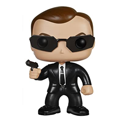Funko POP Movies: The Matrix - Agent Smith Action Figure: Funko Pop Movies: Toys & Games