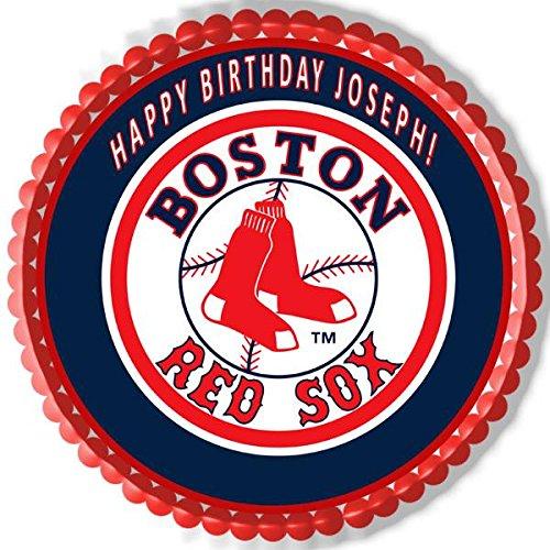 Boston Red Sox Edible Cake Topper - 7.5