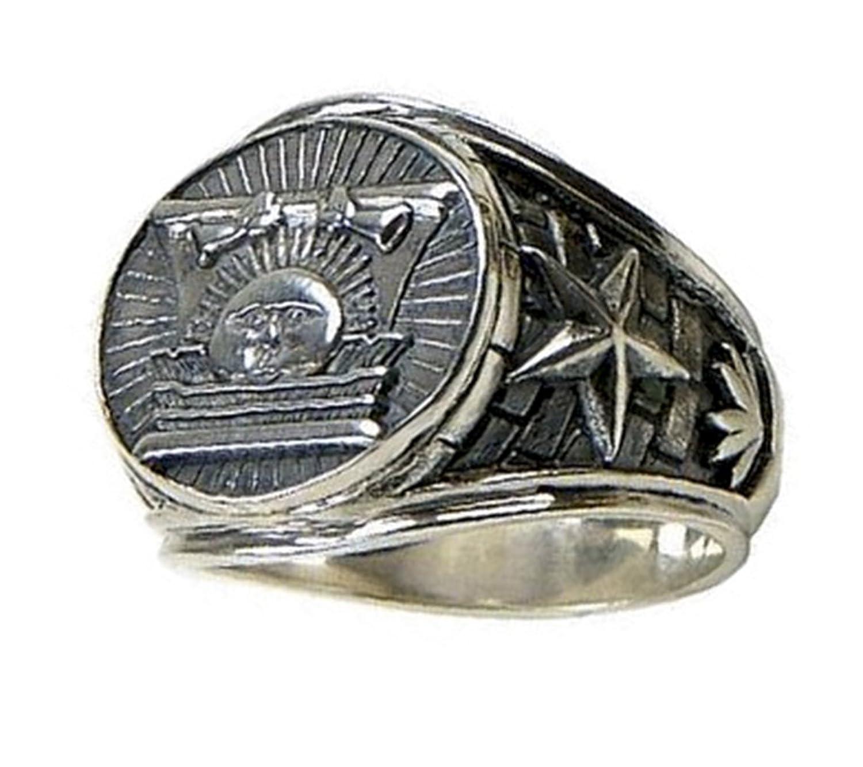 """Sunstone Ring"" - Stainless Steel - CTR Ring - LDS Ring - J34SS"