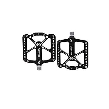 Mountain Bike Pedals Ultra Light Strong 9//16 inch Cycling Sealed Flat Pedal
