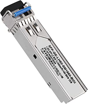 ThinkServer//ASUS Inspur//ZTE H3C SFP-GE-LH80-SM1550 80KM Optical Module,Gigabit Single-Mode Dual Fiber Transceiver for HP//Cisco//Huawei//IBM//DELL//Lenovo etc